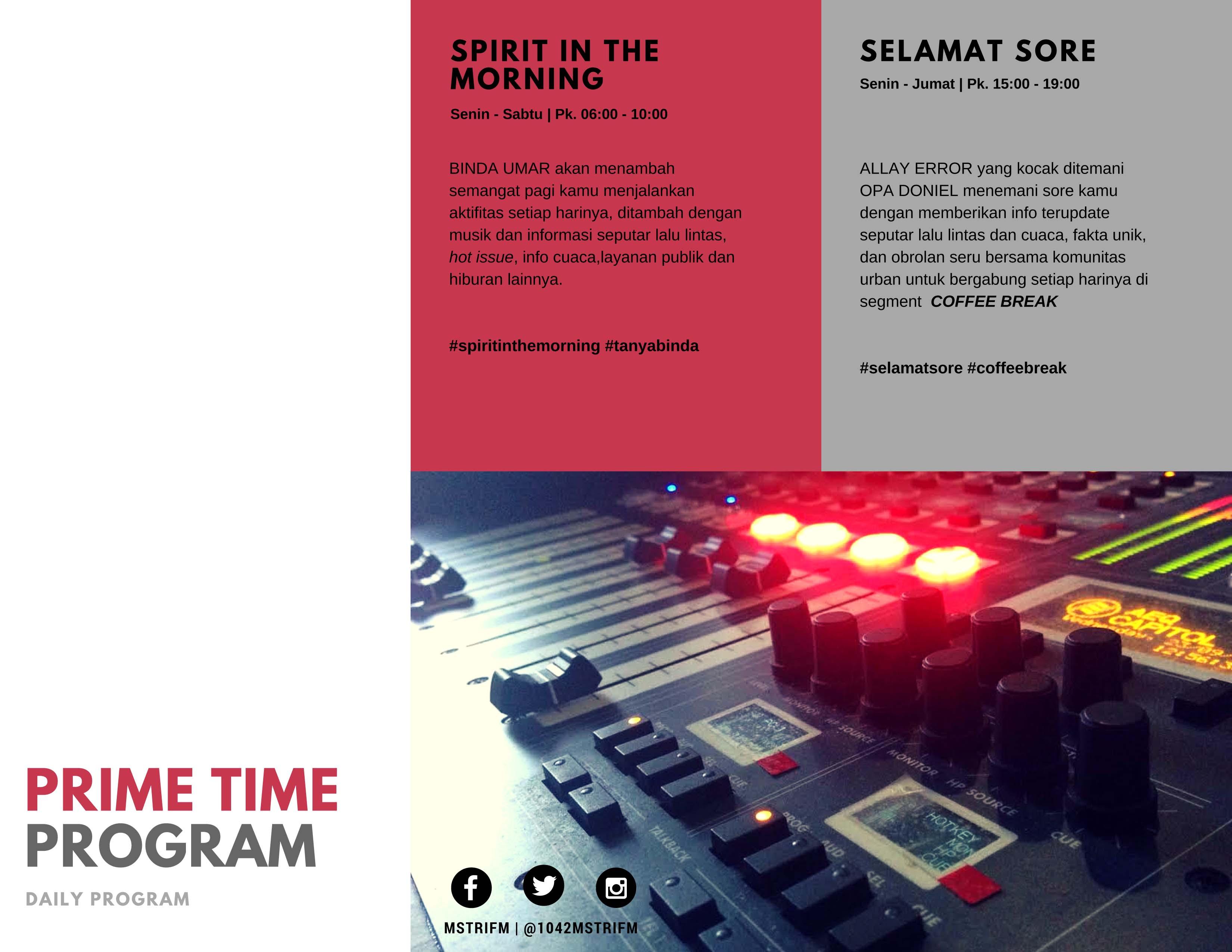 prime time program